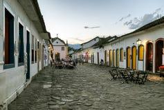 La vieille rue dans le village Photos libres de droits