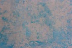 La vieille texture bleu-clair de peinture du ciment a plâtré le mur image stock