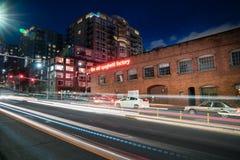 La vieille usine Seattle Washington de spaghetti Images stock