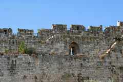 La vieille ville à Jérusalem Photos stock