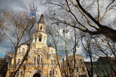 La vieille ville d'Odessa Ukraine Photos stock