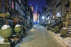 La vieille ville Danzig images stock