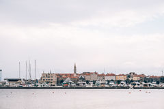 La vieille ville de Budva Photographie stock