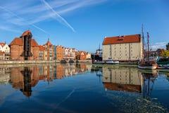 La vieille ville de Danzig Photos stock