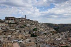 La vieille ville de Matera. photo libre de droits