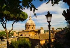 La vieille ville de Rome Images libres de droits