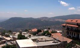 La vieille ville de Safed couvre 2008 Images stock