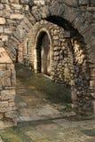 La vieille ville de Southampton mure l'arcade image libre de droits