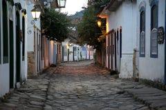 La vieille ville et son architecture Image libre de droits
