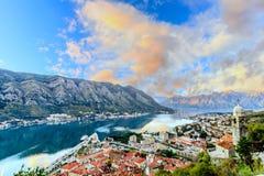 La vieille ville Kotor Image libre de droits