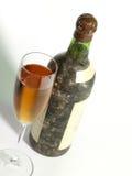La vieja aún-vida del vino Fotografía de archivo