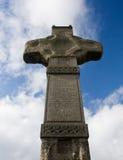 La vieja cruz en Irlanda del norte Foto de archivo