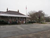 La vieja estación de tren dio vuelta en museo Fotografía de archivo libre de regalías
