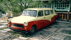 La vieja marca de lujo Trabant del coche
