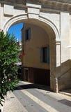 La vieja puerta famosa de San Pablo, Santo-Remy-de-Provence, Francia fotografía de archivo libre de regalías