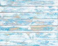 La vieja textura de madera azul con los modelos naturales imagen de archivo