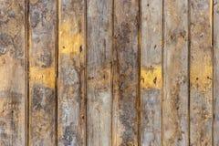 La vieja textura de madera con los modelos naturales Fotos de archivo libres de regalías
