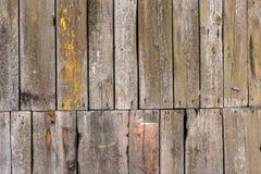 La vieja textura de madera con los modelos naturales Foto de archivo