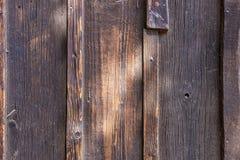 La vieja textura de madera con los modelos naturales Imagen de archivo libre de regalías