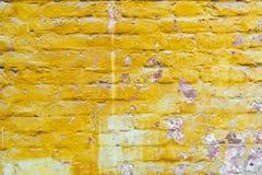 La vieja textura de la pared de ladrillo de la piedra roja bloquea el primer fotos de archivo libres de regalías