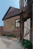La vieja yarda Foto de archivo libre de regalías