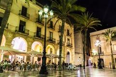 La Vila de la plaza De Photos libres de droits