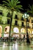 La Vila de la plaza De Image stock