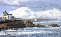 La Villa Belza in Biarritz Stock Photos