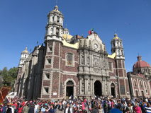 La Villa de Guadalupe Older Cathedral Royalty Free Stock Images
