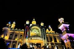 La villa del drago della città di dongguan, Guangdong, porcellana Immagine Stock