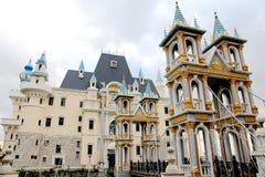 La villa del drago della città di dongguan, Guangdong, porcellana Immagini Stock Libere da Diritti