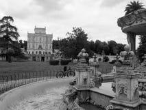 La villa Doria Pamphili a Roma Fotografia Stock Libera da Diritti