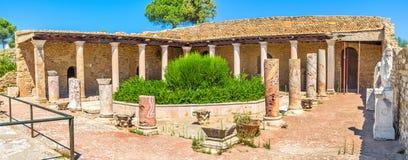 La villa romaine photos libres de droits