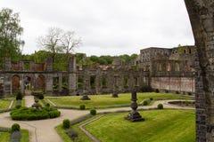 La Ville Abbaye de Villers Imagenes de archivo