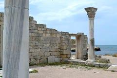 La ville antique Photo libre de droits
