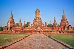La ville antique d'Ayutthaya Photographie stock