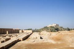 La ville antique de Babylone Image libre de droits