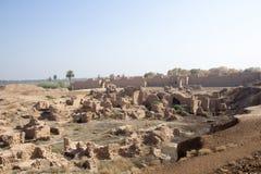 La ville antique de Babylone Images stock