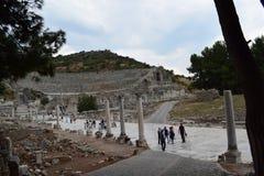 la ville antique de l'ephesus photos stock