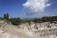 la ville antique de l'ephesus Photo stock