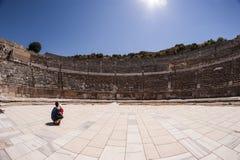 la ville antique de l'ephesus image stock