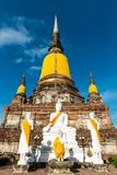 La ville antique de la Thaïlande Photos stock