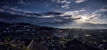 La ville antique de Lijiang Images stock