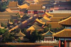 La ville antique de Pékin, Chine photo libre de droits