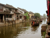 La ville antique de Xitang Photographie stock libre de droits