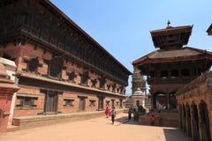 La ville Bhaktapur Népal Photos libres de droits