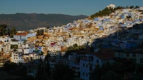 La ville bleue de Chefchaouen, Maroc Images stock