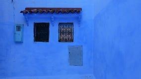 La ville bleue de Chefchaouen, Maroc Image stock