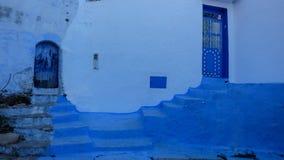 La ville bleue de Chefchaouen, Maroc Photos libres de droits