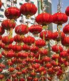 La ville chinoise en an neuf Photo stock